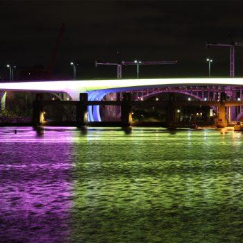 It's just color under the bridge
