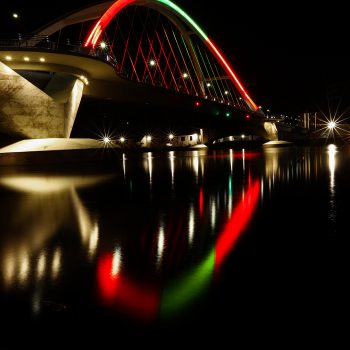 Lowry Bridge Christmas